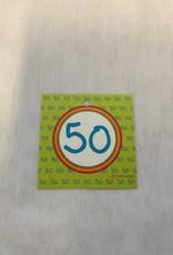 DANKKAARTJE 50