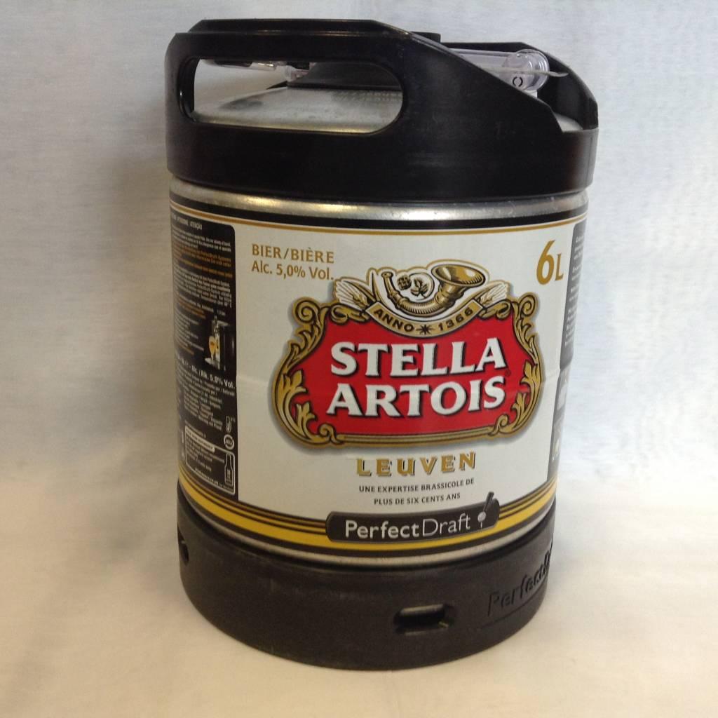 STELLA ARTOIS PERFECT DRAFT KEG 6 L