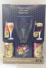 BRUGSE ZOT GESCHENK 2BL+2BR+GLAS