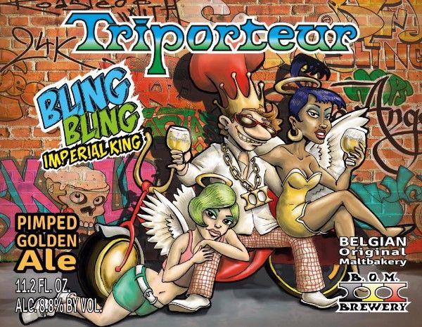 TRIPORTEUR BLING BLING 33 CL