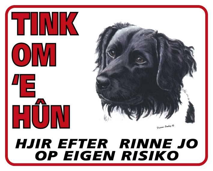 Friese Stabij Waakbord - Tink om u Hun