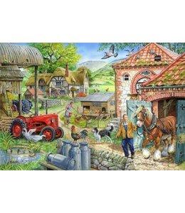 The House of Puzzles Manor Farm Puzzel 1000 Stukjes