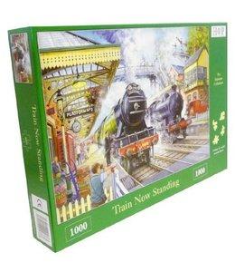 The House of Puzzles Train Now Standing Puzzel 1000 Stukjes