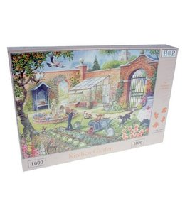 The House of Puzzles Kitchen Garden Puzzel 1000 Stukjes