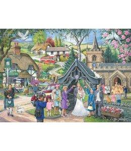 The House of Puzzles No.4 - Wedding Day Puzzel 1000 Stukjes