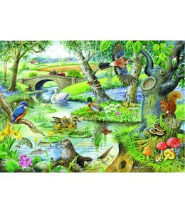 The House of Puzzles Tales Of The River Puzzel 500 Stukjes XL