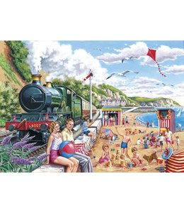 The House of Puzzles Seaside Special Puzzel 250 Stukjes XL