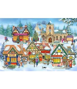 The House of Puzzles Village Life Puzzel 250 Stukjes XL