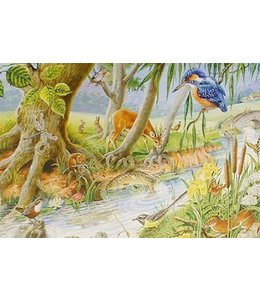 The House of Puzzles By The Riverbank Puzzel 250 Stukjes XL