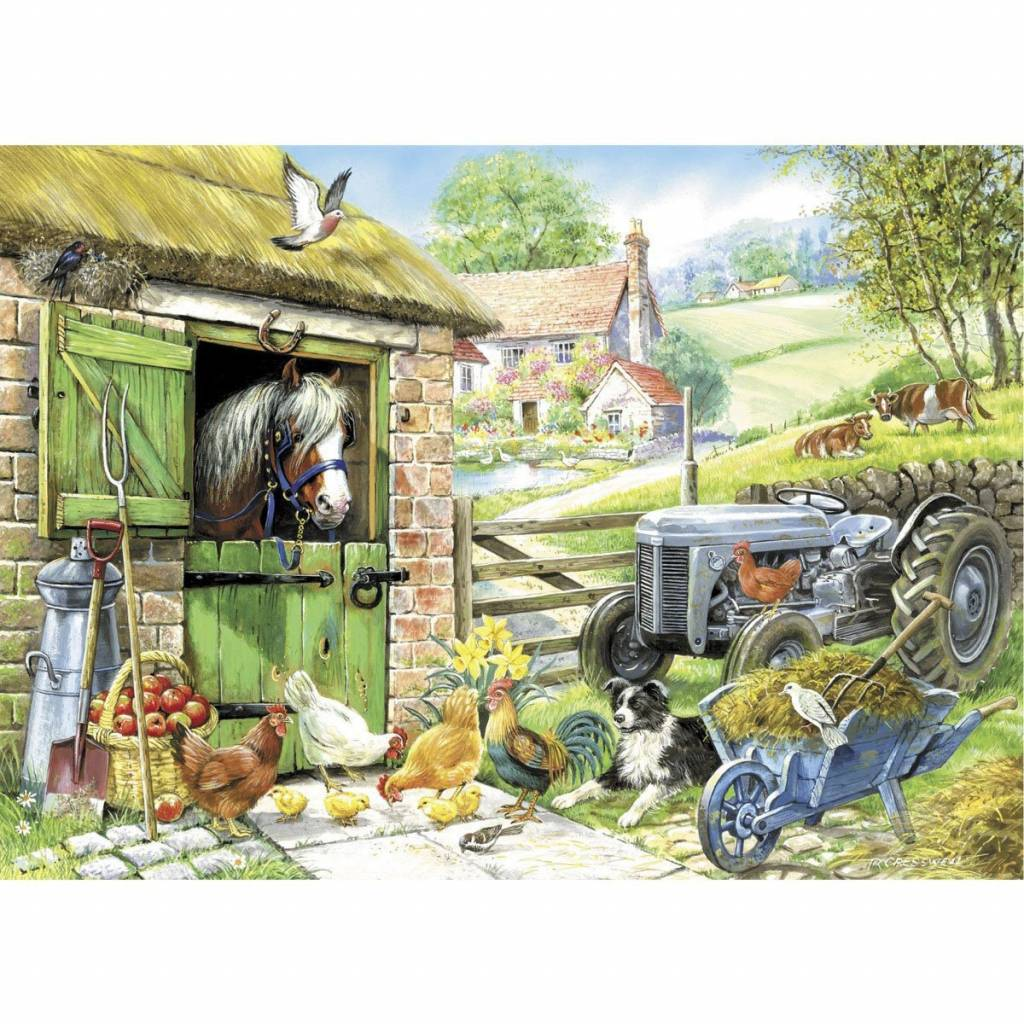 Down On The Farm Puzzel 250 Stukjes XL