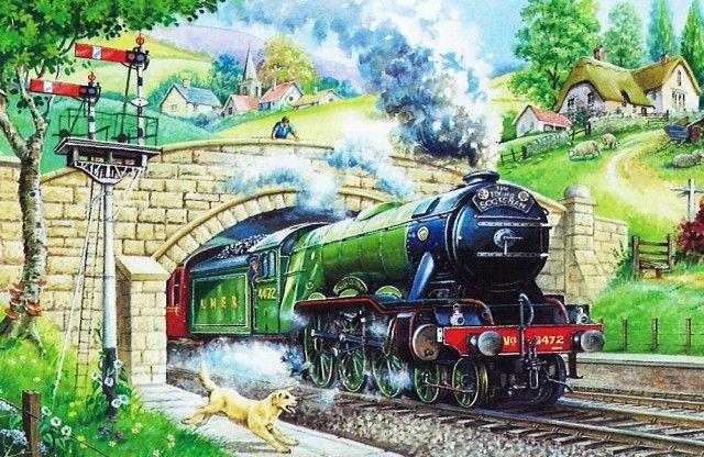 Train Spotting Puzzel 250 Stukjes XL
