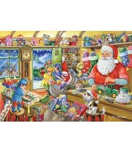 The House of Puzzles No.5 - Santa's Workshop Puzzel 500 Stukjes