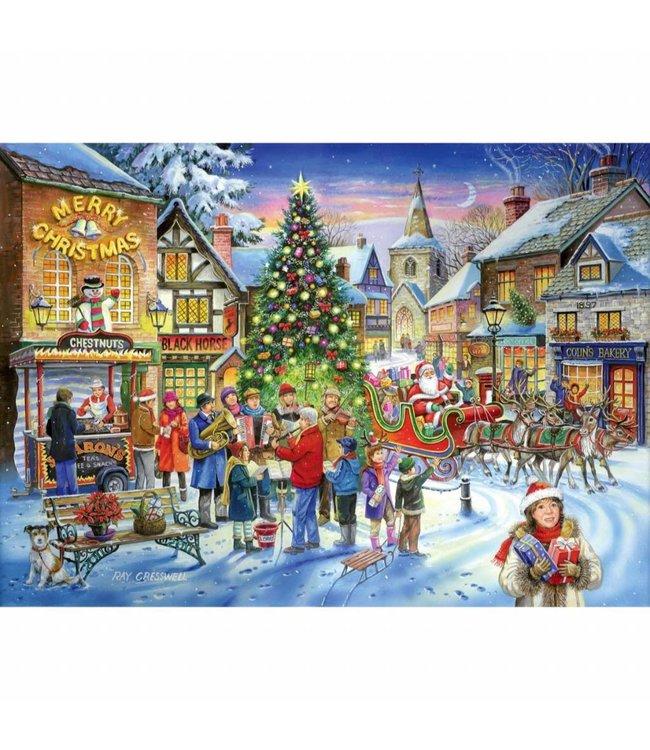 The House of Puzzles No.6 - Christmas Shopping Puzzel 500 Stukjes