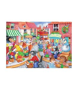 The House of Puzzles In The Town Puzzel 80 Stukjes