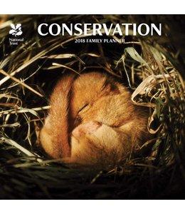 CarouselCalendars National Trust Conservation Planner 2018