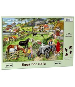The House of Puzzles Eggs For Sale Puzzel 1000 stukjes