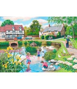 The House of Puzzles Duck Pond Puzzel 250 XL stukjes