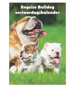 Qwebwinkel.nl Engelse Bulldog Verjaardagskalender