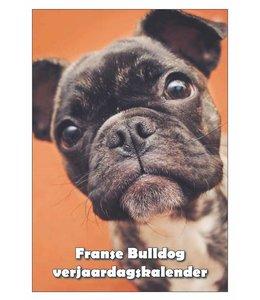 Qwebwinkel.nl Franse Bulldog Verjaardagskalender