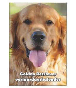 Qwebwinkel.nl Golden Retriever Verjaardagskalender
