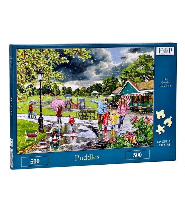 The House of Puzzles Puddles Puzzel 500 stukjes