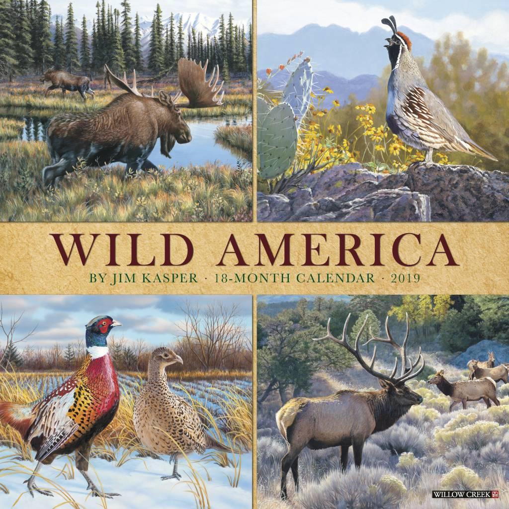 Wild America Kalender 2019