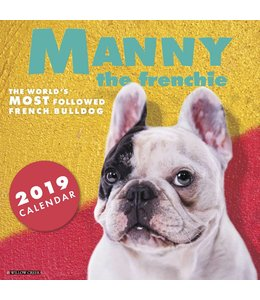 Willow Creek Manny the Frenchie Kalender 2019
