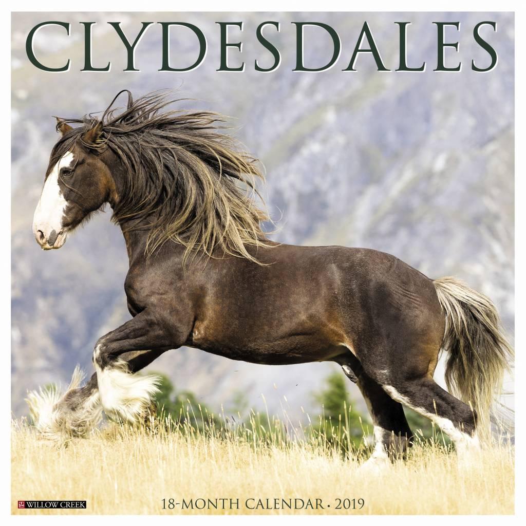 Clydesdales Kalender 2019