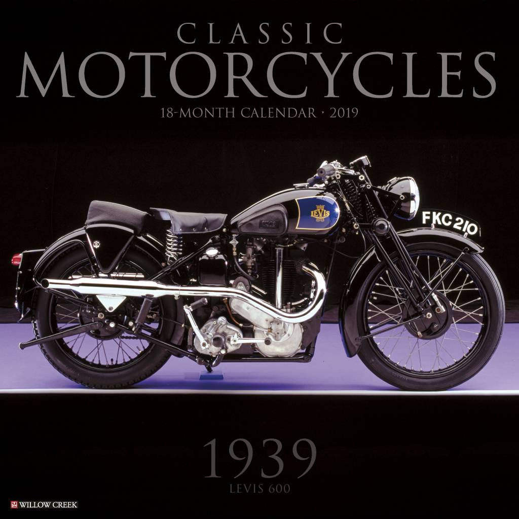 Classic Motorcycles Kalender 2019