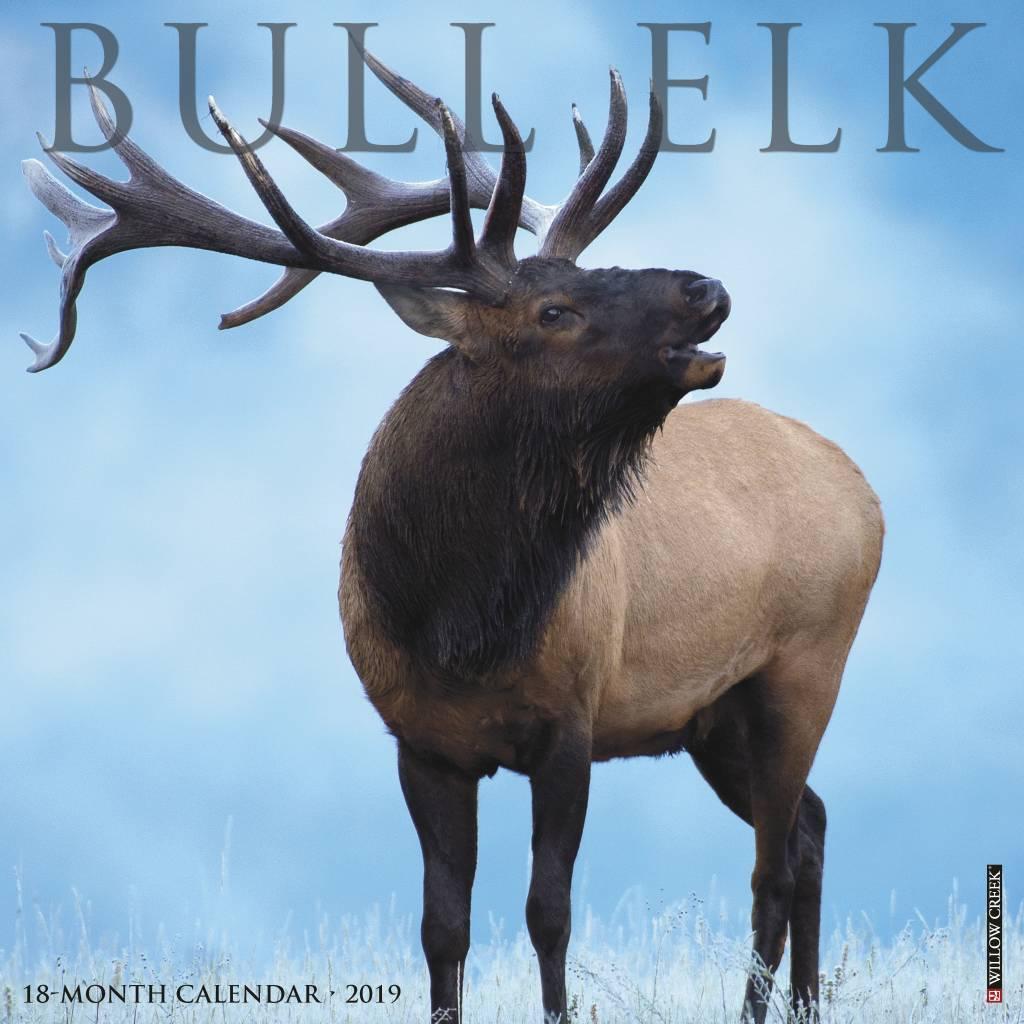 Bull Elk Kalender 2019