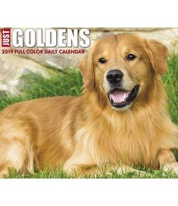 Willow Creek Golden Retriever Kalender 2019 Boxed
