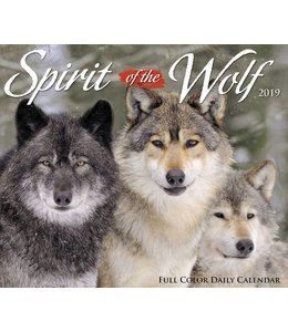Willow Creek Spirit of the Wolf Kalender 2019 Boxed