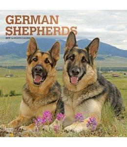 Browntrout Duitse Herder Kalender 2019
