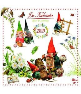 Comello Rien Poortvliet Kalender 2019 Kabouter
