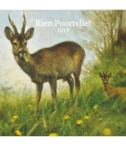 Comello Rien Poortvliet Kalender 2019 Natuur
