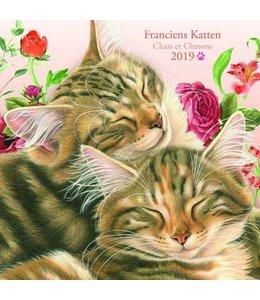 Comello Franciens Katten Kalender 2019