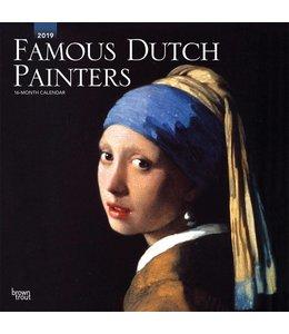 Browntrout Famous Dutch Painters Kalender 2019