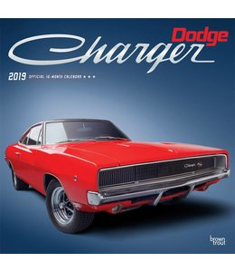 Browntrout Dodge Charger Kalender 2019