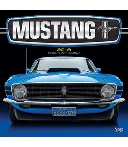 Browntrout Mustang Kalender 2019