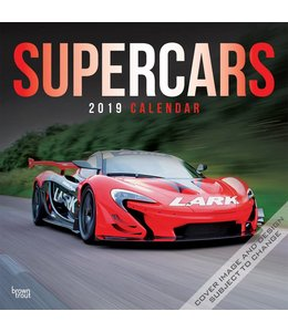 Browntrout Supercars Kalender 2019
