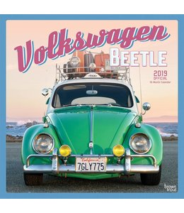 Browntrout Volkswagen Beetle Kalender 2019
