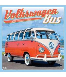Browntrout Volkswagen Bus Kalender 2019