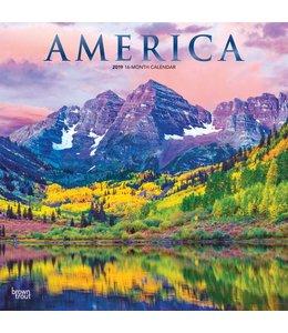 Browntrout America Kalender 2019