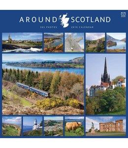 CarouselCalendars 365 Days Around Scotland Kalender 2019