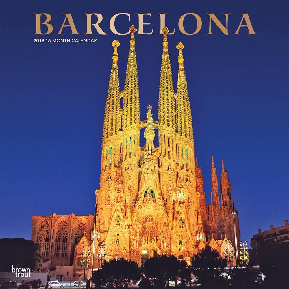 Barcelona Kalender 2019 Browntrout