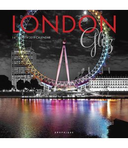 Graphique de France London Glitz Kalender 2019