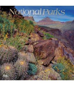 Browntrout National Parks Kalender 2019