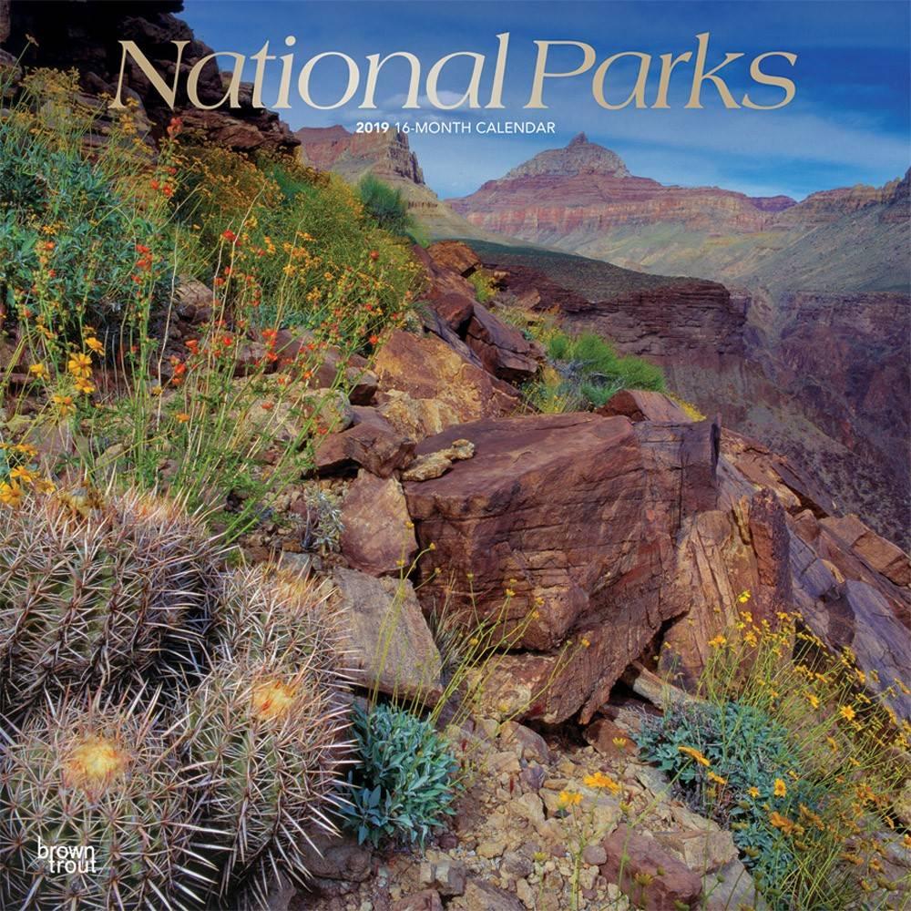 National Parks Kalender 2019 Browntrout