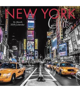 Graphique de France New York Kalender 2019 Glitz