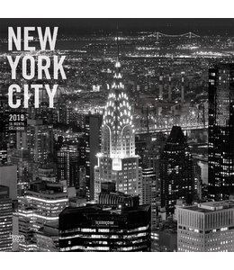 Browntrout New York City Kalender 2019 Black and White
